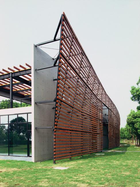 Visitor Center, Lake Yangcheng Park, Kunshan, China