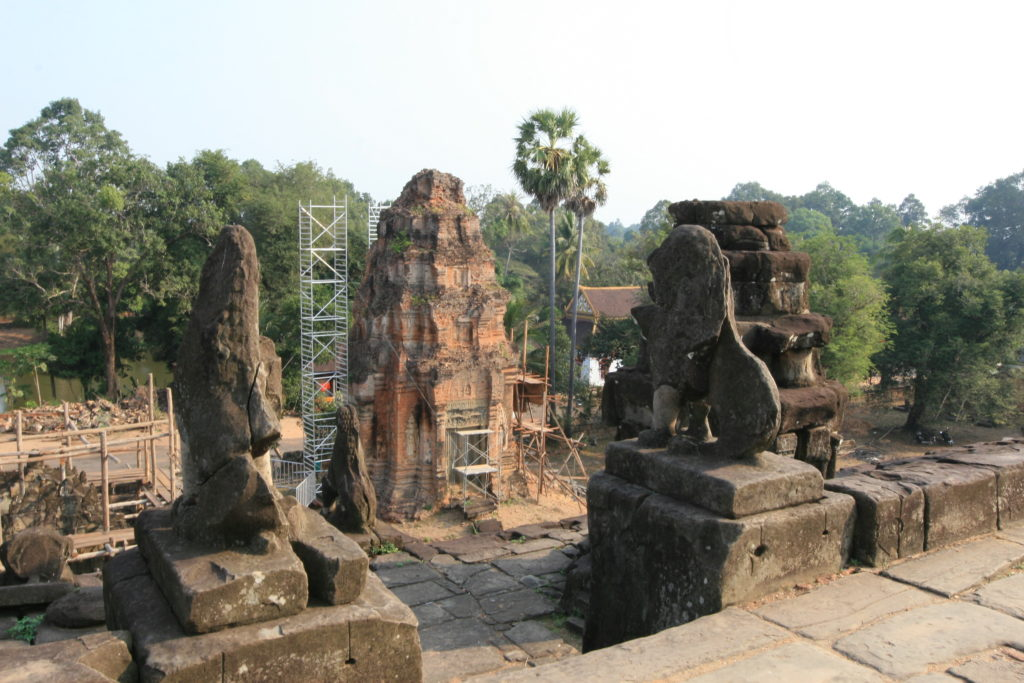 Cover photo for A Heritage of Ruins, a published study of conservation in Southeast Asia (2013)