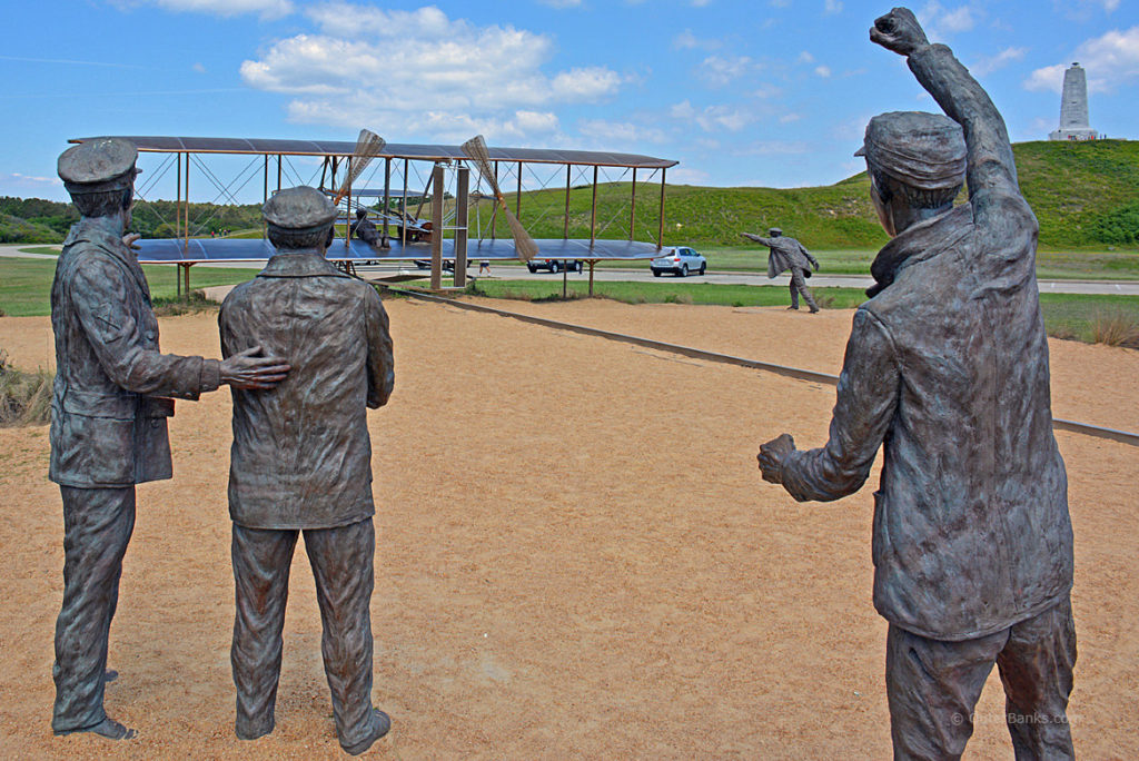 The Wright Brothers National Memorial, the subject of a National Park Service study